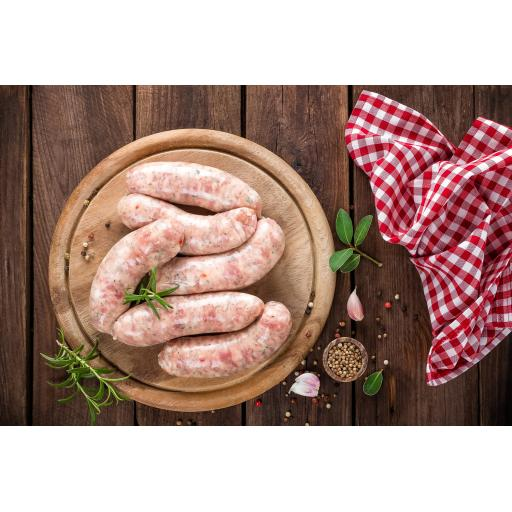 1lb Intwood Classic rare breed Jumbo pork sausages