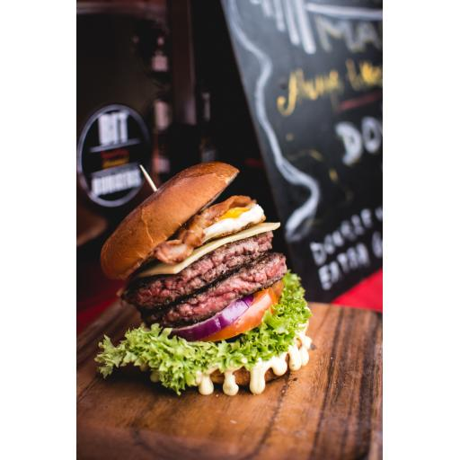 Home Reared Beef - 4 x 4oz Gluten Free Beef Burgers