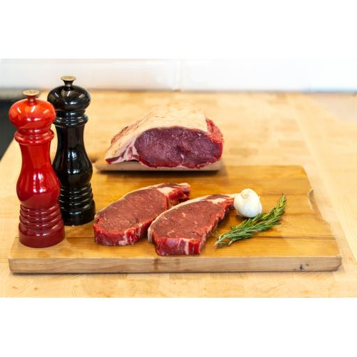 8 Oz Sirloin Steak from our Home Reared Beef