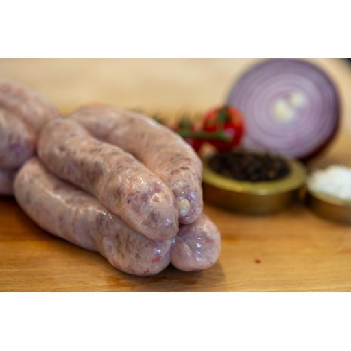 ½ lb Intwood Classic rare breed pork sausages