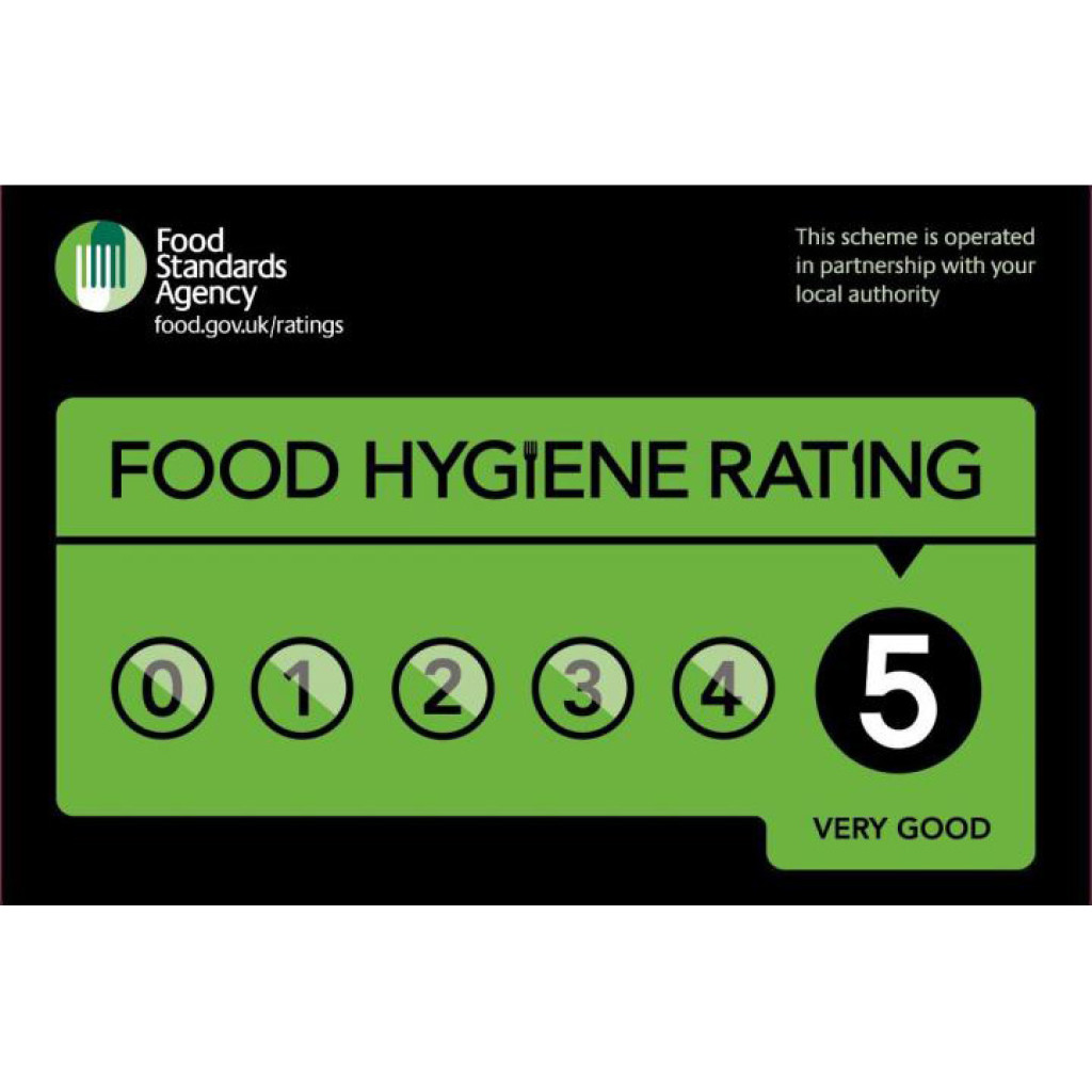 Food Standards Agency Hygiene Rating 5