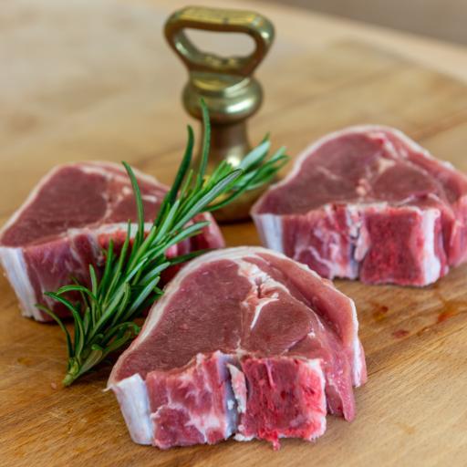 Home Reared New Season Lamb Chops (pair)