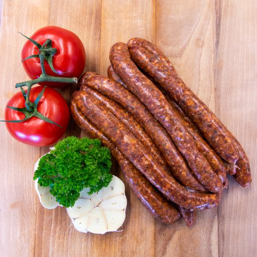 1lb Merguez Sausages from our home reared sheep