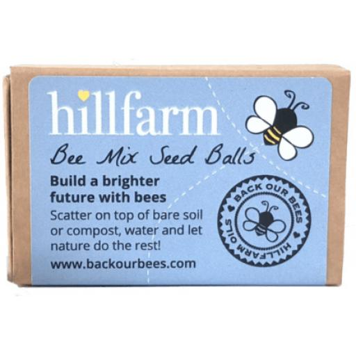 Hillfarm Bee Mix Seed Balls