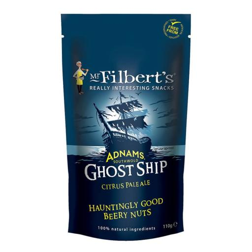 Adnams Ghost Ship Beery Peanuts 110g
