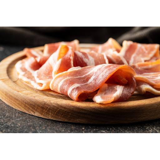 Locally Sourced Smoked Dry Cured Back Bacon