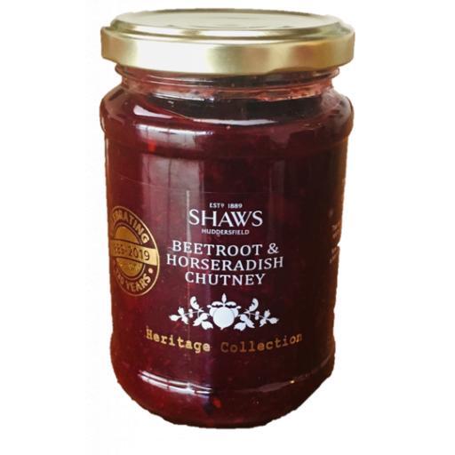 Shaws Beetroot & Horseradish Chutney 290g
