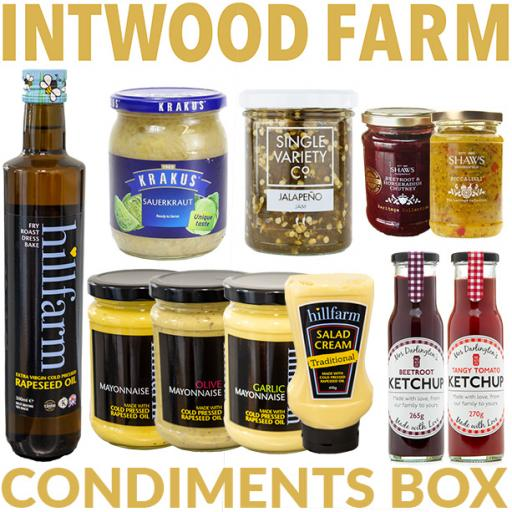 Build Your Own Condiments Box