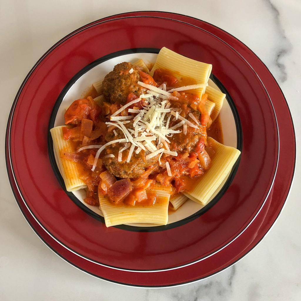 Recipe of the Month - How to cook Intwood Farm Meatballs in Italian Sauce
