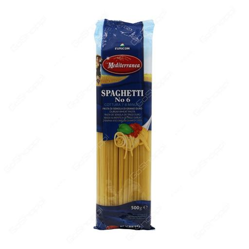 Spaghetti La Mediterranea no 6 (500g)