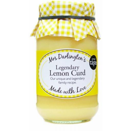 Mrs Darlington's Lemon Curd 320g