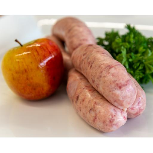 1lb Pork and Apple Sausages from Locally Sourced Pork