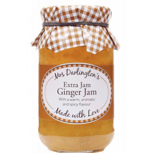 Mrs Darlington's Extra Jam, Ginger Jam 340g