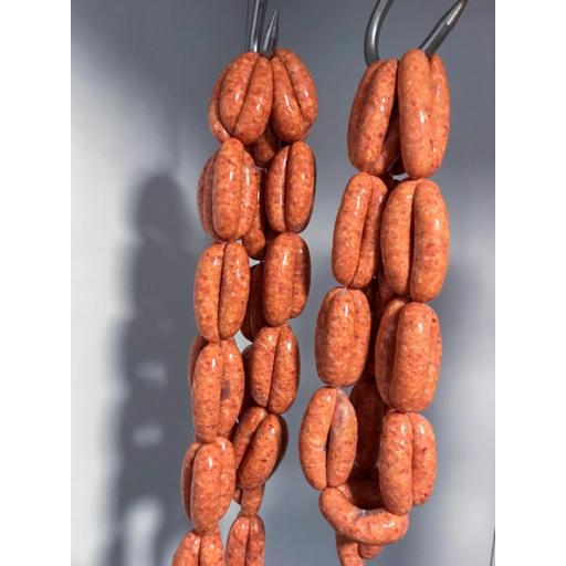 1lb Sweet Chilli Sausages from our Rare Breed Pork