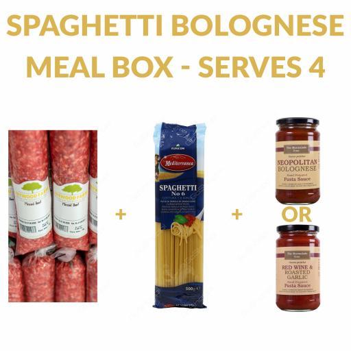 Spaghetti Bolognese Meal Box