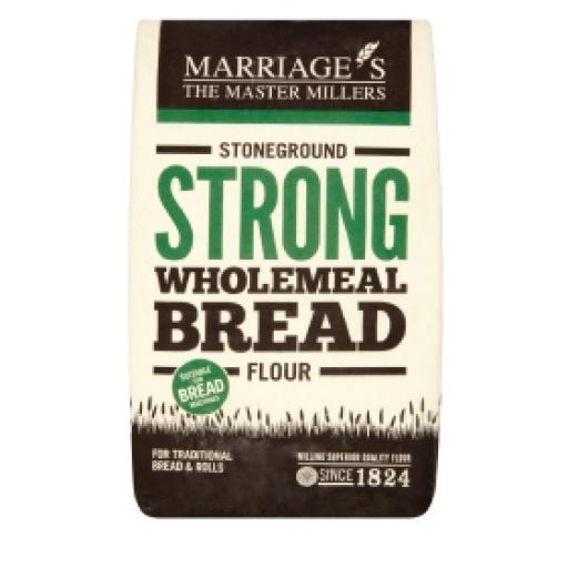 Marriage's Strong Stoneground Wholemeal Bread Flour 1.5kg