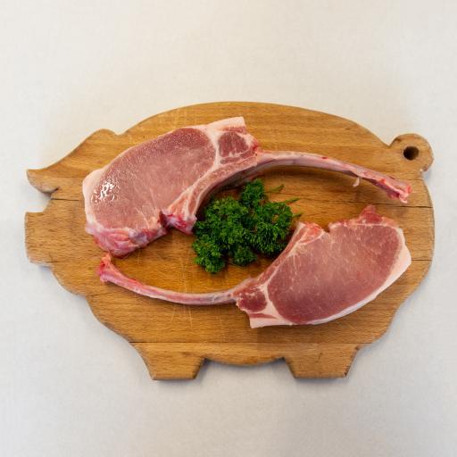 Pair of Pork Tomahawks