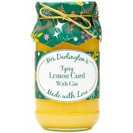 Mrs Darlington's Tipsy Lemon Curd 320g