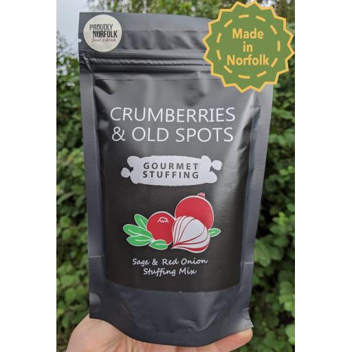 Crumberries & Old Spots Sage & Onion Stuffing 130g