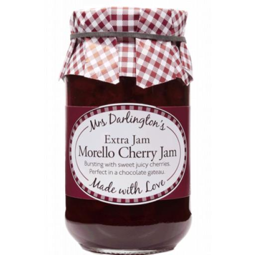 Mrs Darlington's Extra Jam, Morello Cherry Jam 340g