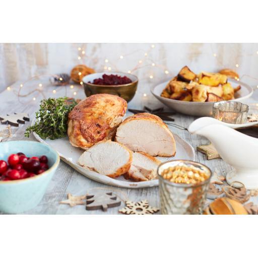 Free Range Turkey Breast Rolls – Bronze