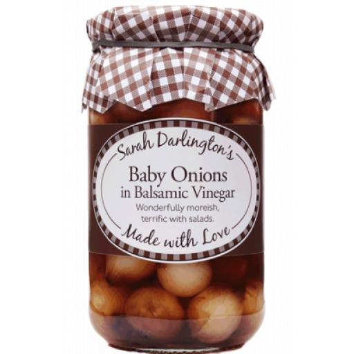 Mrs Darlingtons Baby Onions In Balsamic Vinegar 450g