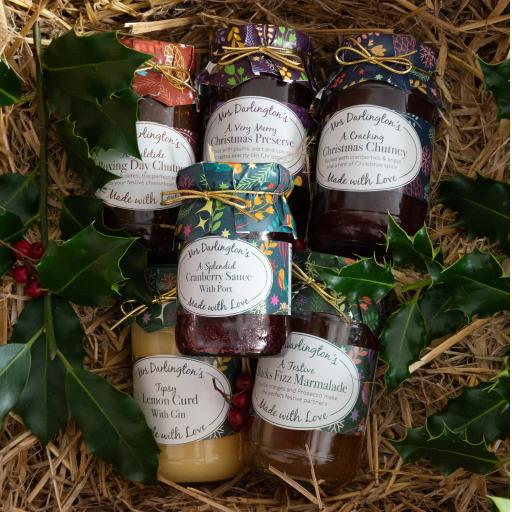 The Intwood Christmas Condiments and Preserves Box