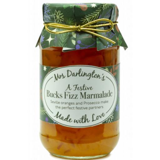 Mrs Darlingtons Bucks Fizz Marmalade 340g