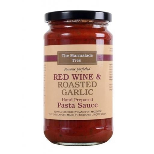 Marmalade Tree Red Wine & Roasted Garlic Pasta Sauce 470g