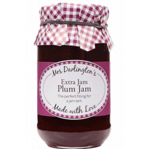 Mrs Darlington's Extra Jam, Plum Jam 340g