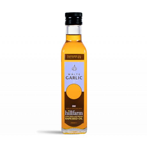 Hillfarm White Garlic Oil 250ml