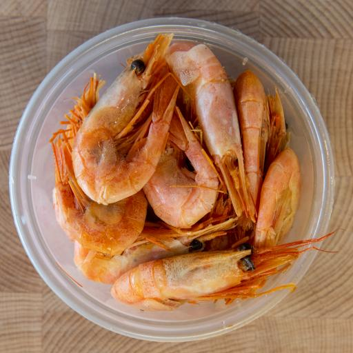 Staithe Smokehouse Oak Smoked Shell on Prawns 500g