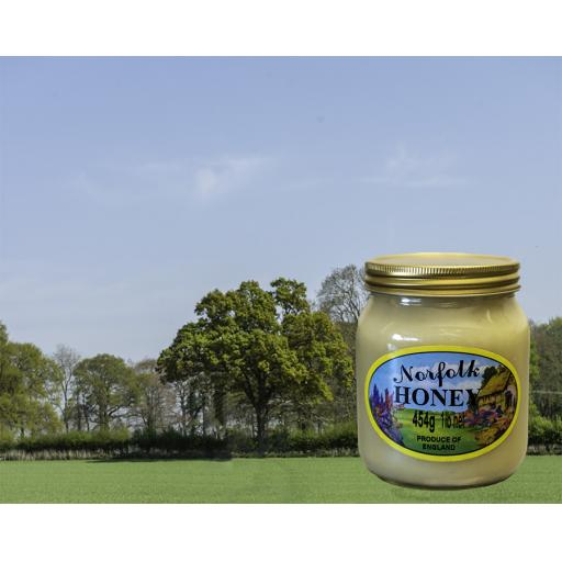 Pure Set Norfolk Honey 454g