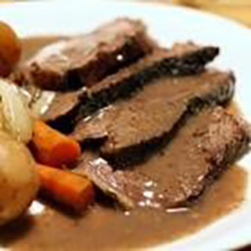 Recipe of the Month - Pot Roast with Red Wine