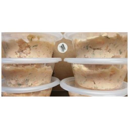 Smoked salmon mousse from Staithe Smokehouse 150g
