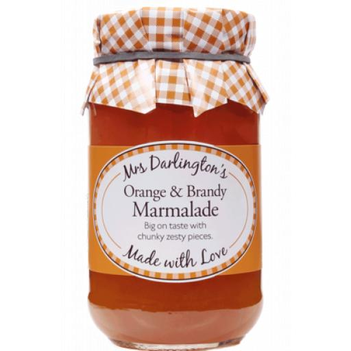 Mrs Darlington's Thick Cut Orange Marmalade With Brandy 340g