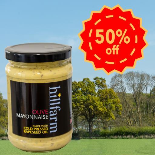 Hillfarm Olive Mayonnaise 310g