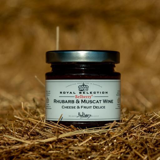 Belberry Rhubarb & Muscat Wine 130g