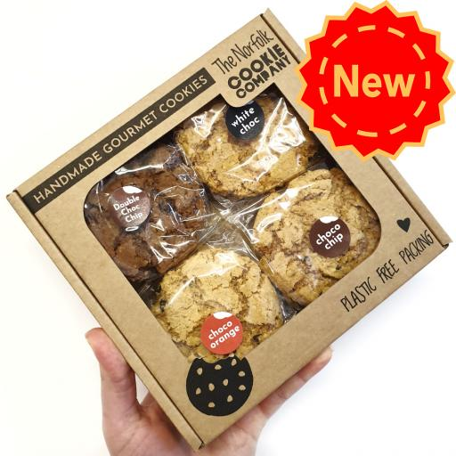 The Norfolk Cookie Company Choc Cookie Gift Pack