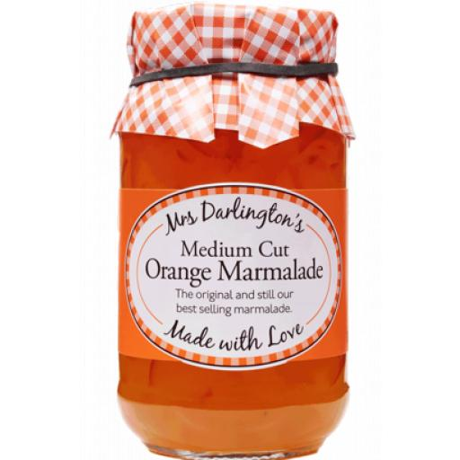 Mrs Darlington's Medium Cut Orange Marmalade 340g