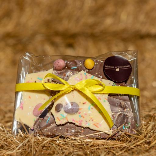 Lifetime of Chocolate Easter Bark 150g