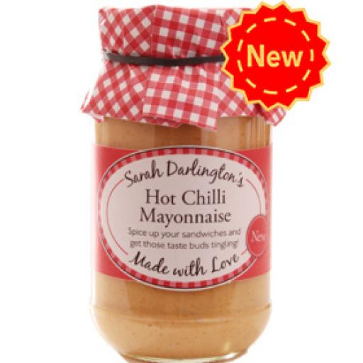 Mrs Darlington's Hot Chilli Mayonnaise 250g