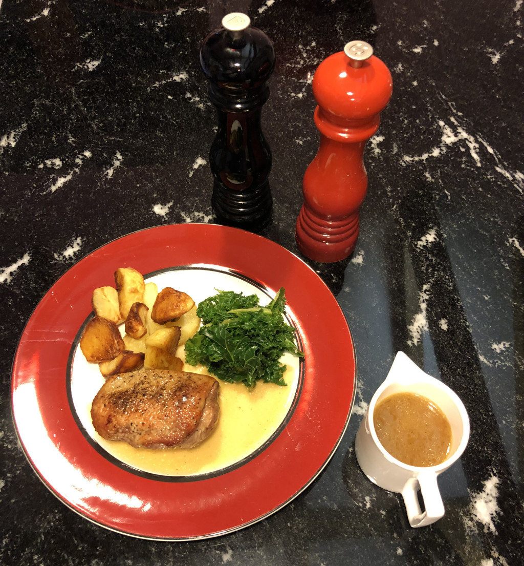 Recipe of the Month - Duck Breasts with Vicar of Beighton Sauce