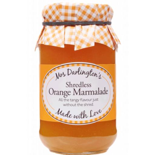 Mrs Darlington's Shredless Orange Marmalade 340g
