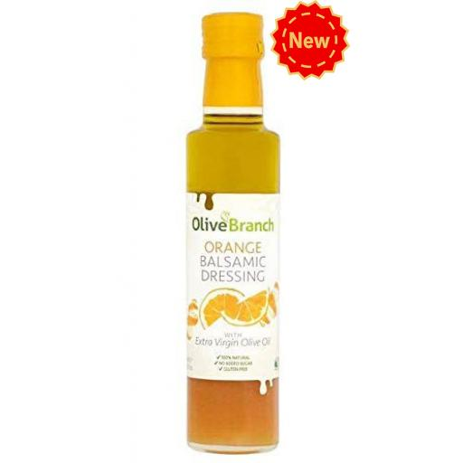 Olive Branch Orange Balsamic Dressing 250ml