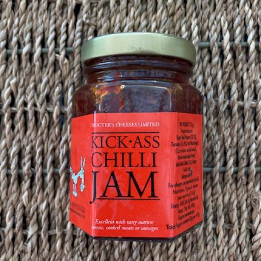 Kick-Ass Chilli Jam 115g