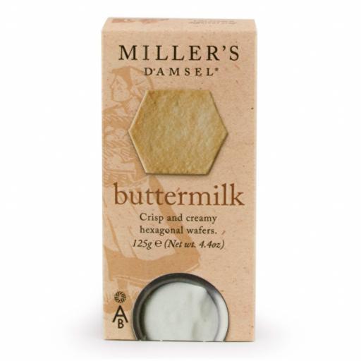 Millers Damsel Buttermilk Wafers 125g