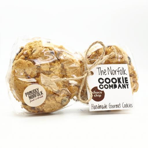 Norfolk Cookie Company Choc Chip Cookies (6 Pack)