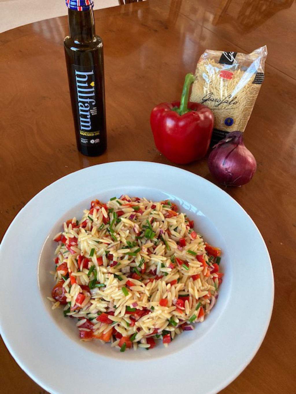 Recipe of the Month – Orzo Pasta Salad