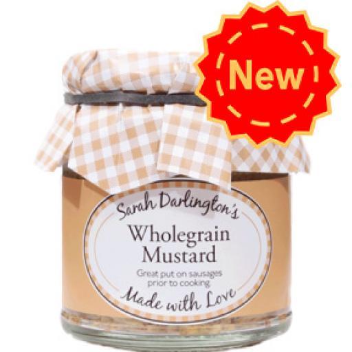 Mrs Darlington's Wholegrain Mustard 160g